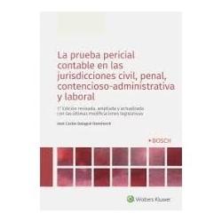 La prueba pericial contable en las jurisdicciones civil, penal, contencioso-administrativa y laboral
