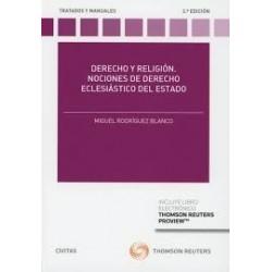 Derecho y Religión. Nociones de derecho eclesiástico del estado