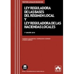 Ley de Bases de Régimen Local y Ley Reguladora de Haciendas Locales 2019