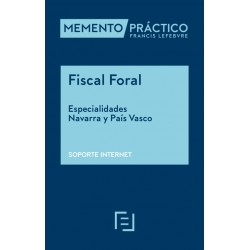 Memento Fiscal Foral. Especialidades Navarra y País Vasco. Soporte Internet