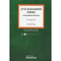 Ley de enjuiciamiento criminal y otras normas procesales 2019