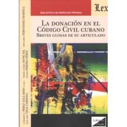 La donación en el Código Civil Cubano