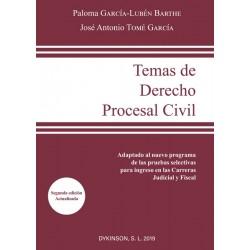 Temas de Derecho Procesal Civil