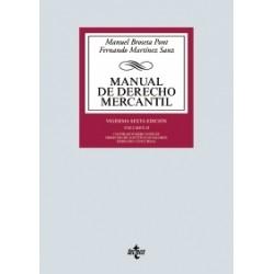 Manual de Derecho Mercantil. Volumen II
