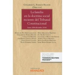 La familia en la doctrina social reciente del Tribunal Constitucional
