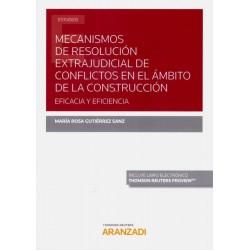 Mecanismos de resolución extrajudicial de conflictos en el ámbito de la construcción