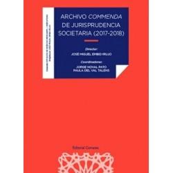 Archivo conmenda de jurisprudencia societaria (2017-2018)