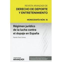 Régimen jurídico de la lucha contra el dopaje en España