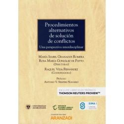 Procedimientos alternativos de solución de conflictos. Una perspectiva interdisciplinar