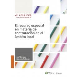 El recurso especial en materia de contratación en el ámbito local