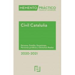 Memento Civil Cataluña. Persona, Familia, Sucesiones, Personas Jurídicas, Derechos Reales, obligaciones y contratos 2020-2021