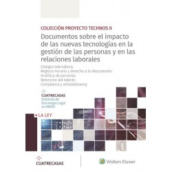 Documentos sobre el impacto de las nuevas tecnologías en la gestión de las personas y en las relaciones laborales