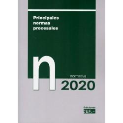 Principales normas procesales. Normativa 2020