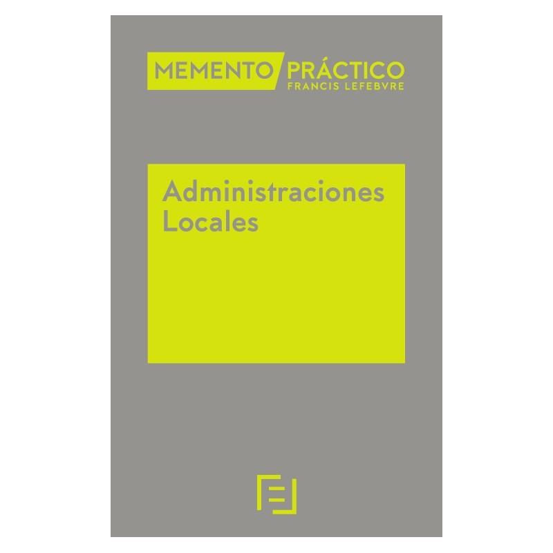 Memento Práctico Administraciones Locales.