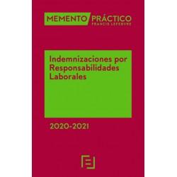 Prepublicación. Memento Indemnizaciones por Responsabilidades Laborales 2020-2021
