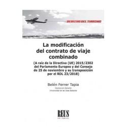 La modificación del contrato de viaje combinado