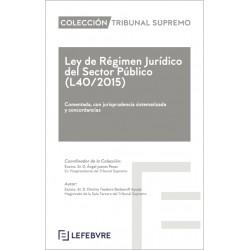 Prepublicación. Ley de Régimen Jurídico del Sector Público. L40/2015