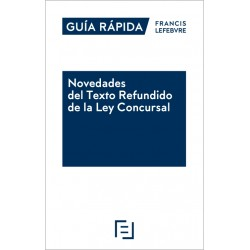 Prepublicación. Novedades del Texto Refundido de la Ley Concursal