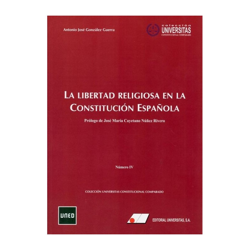 La libertad religiosa en la constitución española