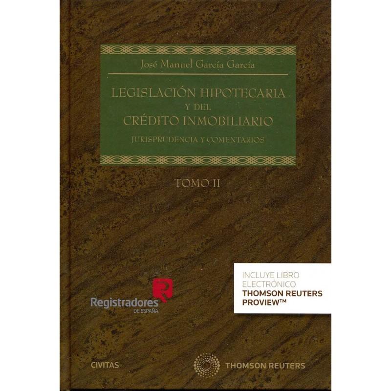 Legislación Hipotecaria y del Crédito Inmobiliario