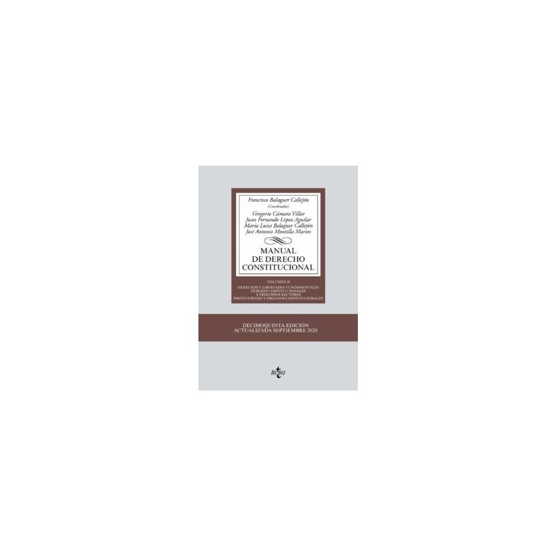 Manual de Derecho Constitucional. Volumen II