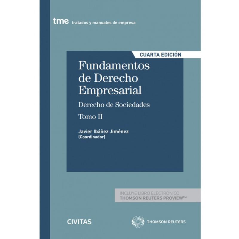 Fundamentos de Derecho Empresarial II. Derecho de Sociedades