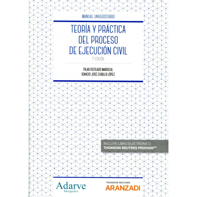 Teoría y práctica del proceso de ejecución civil
