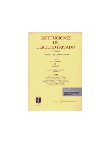 Instituciones de Derecho Privado. T-V.V.5º