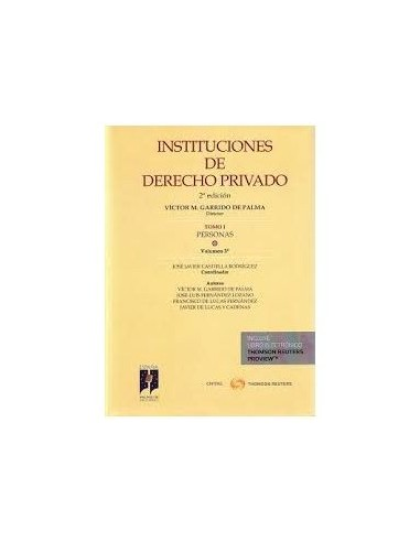 Instituciones de Derecho Privado. T-I.V.3º