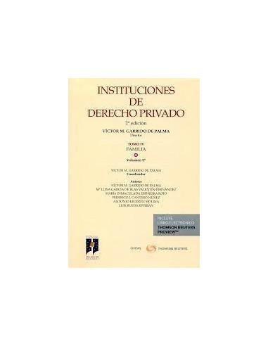 Instituciones de Derecho Privado. T-IV.V.1º