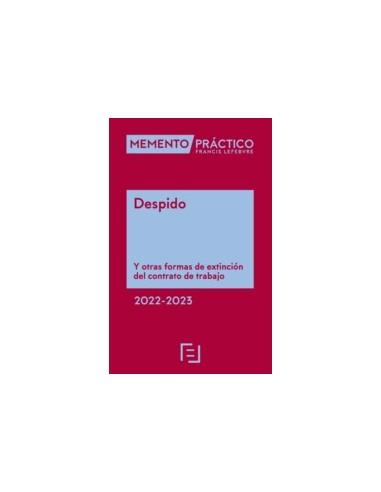 Memento Despido 2022-2023