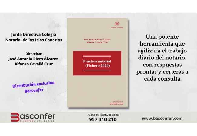 [NUEVO LANZAMIENTO] Práctica notarial (Fichero 2020)